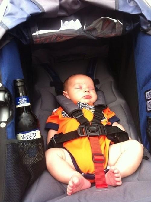 All Strollers Need Beer Holders