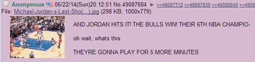4chan Realizes the Ridiculousness of Stoppage Time