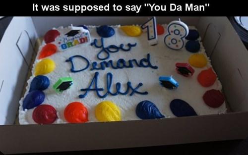 cake,monday thru friday,graduation,birthday,parenting,g rated