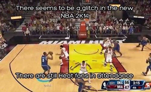 glitches,video games,nba 2k14