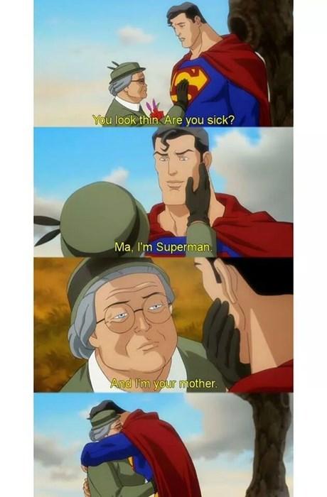 Martha Kent,mom,superman