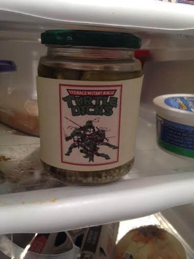 TMNT,pickles,food
