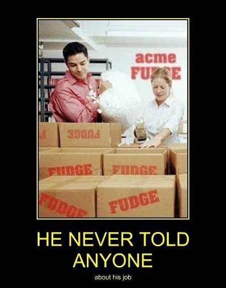 job,fudge,funny,packing