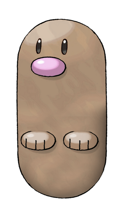 Diglett Wednesday: Like a Pill With Feet