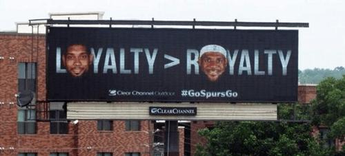 basketball,lebron james,nba,san antonio spurs,san antonio billboard