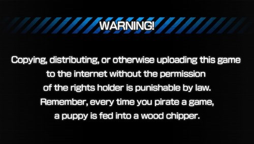 Just Another Boring Ole Anti-Piracy Message