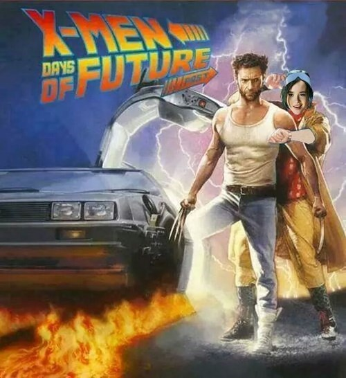 back to the future,days of future past,kitty pryde,x men,wolverine