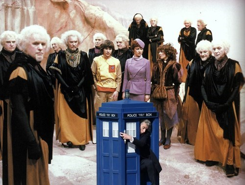 The Doctor Returns to Logopolis