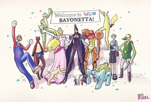 If Nintendo Character's Had Bayonetta's Proportions