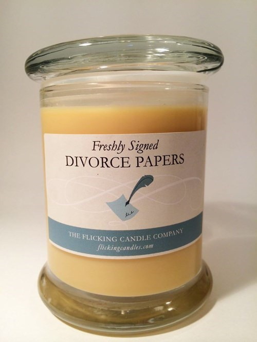 Smells Like Alimony