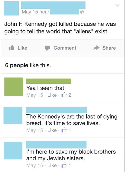 False, JFK Was Clearly a Lizard Person Trying to Make the Time Cube