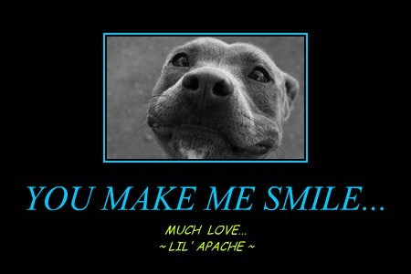 YOU MAKE ME SMILE...
