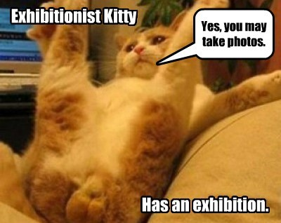 Exhibitionist Kitty.