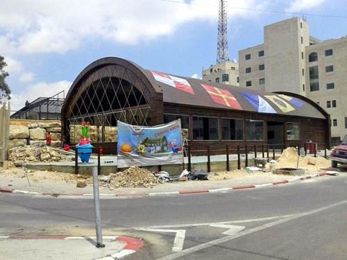 cartoons,fast food,IRL,restaurants,SpongeBob SquarePants,Palestine
