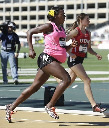 Thirty-Four Weeks Into Her Pregnancy, Alysia Montano Ran in the U.S. Track and Field Championships