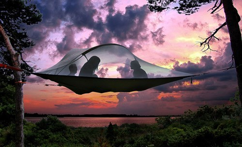 This Portable Floating Tent is the Only Way to Go Camping