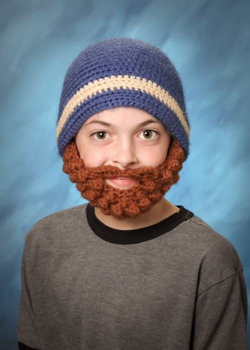 Kids Can Grow Beards?