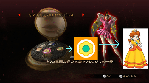 Bayonetta Has Peach and Daisy Costumes!