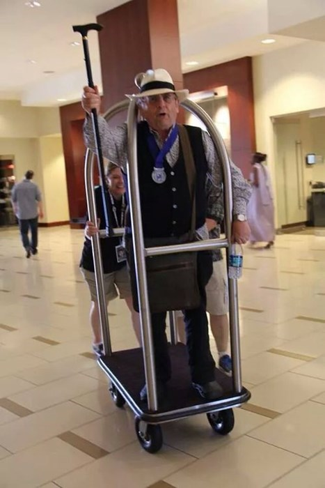 Sylvester McCoy Has His Own Means of Transportation