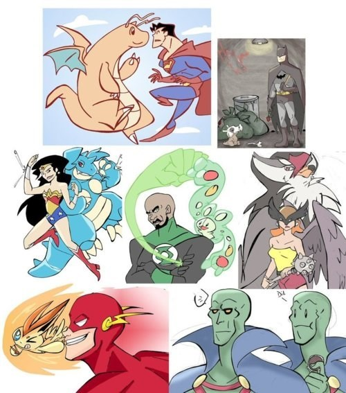 Superhero Pokémon
