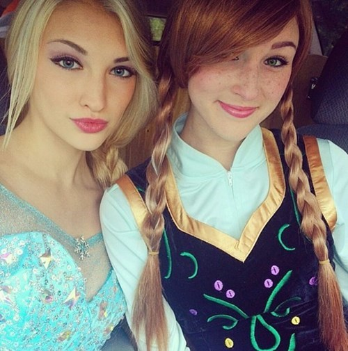 Thaw Your Heart With Elsa and Anna Cosplay