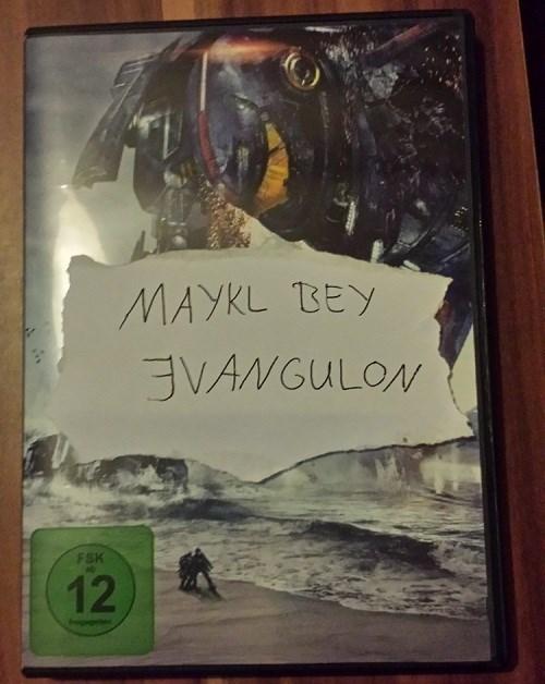 100% Legit Leaked Michael Bay Evangelion DVD
