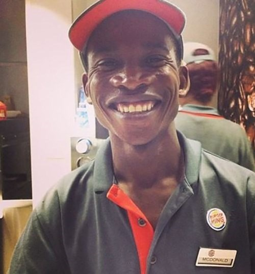 You Work for Burger King, But Your Name Is...