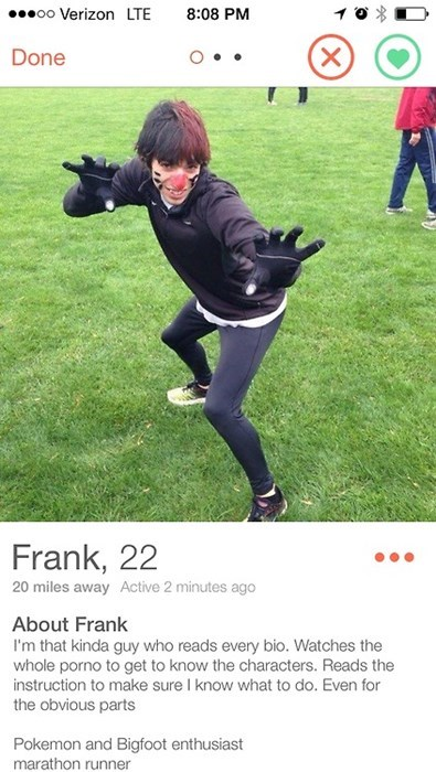 Frank Is Pretty Great