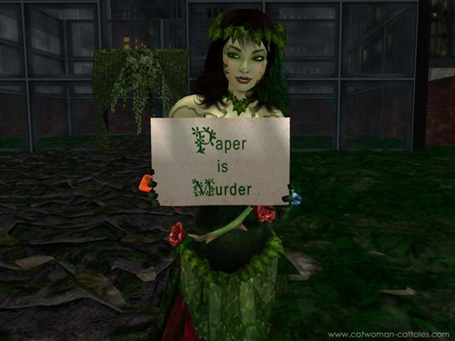 environmentalism,paper,poison ivy
