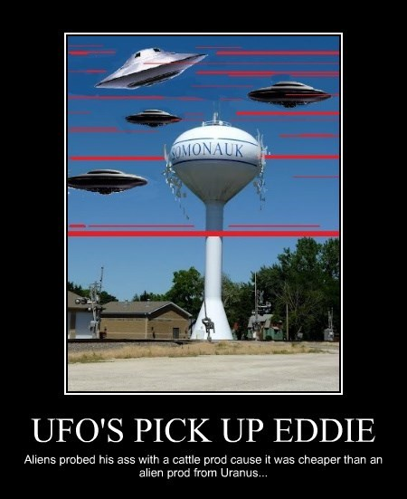 UFO'S PICK UP EDDIE