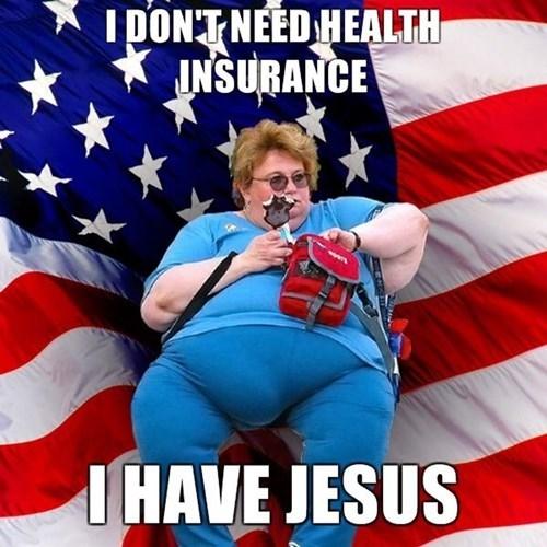 jesus,insurance,murica,funny