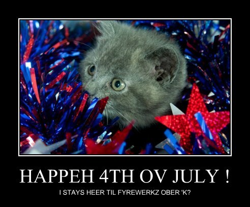 HAPPEH 4TH OV JULY !