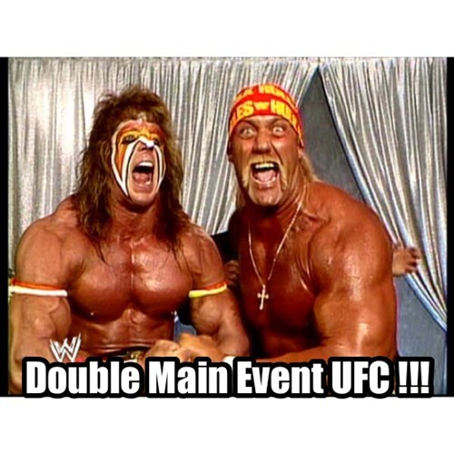 Double Main Event UFC !!!