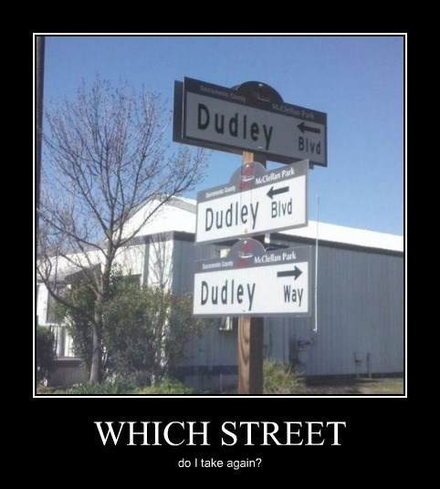 It's Just on the Corner of Dudley