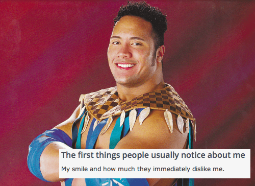 funny,online dating,wrestling,the rock