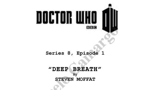 BEWARE OF SPOILERS: Scripts for Series 8 Have Leaked