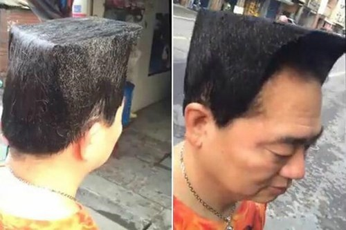 box,hair,haircut,poorly dressed
