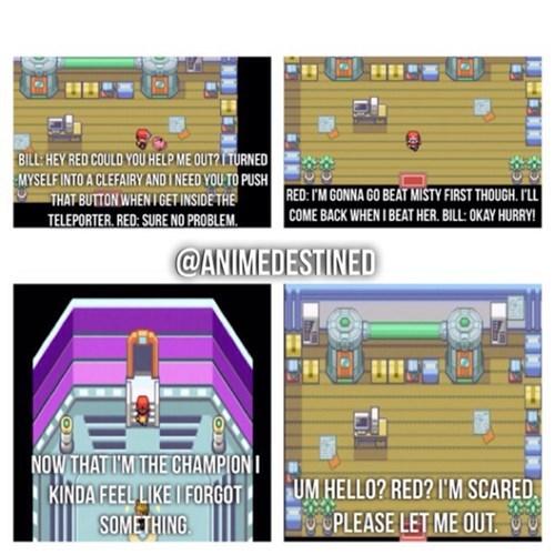 bill,Pokémon,Sad