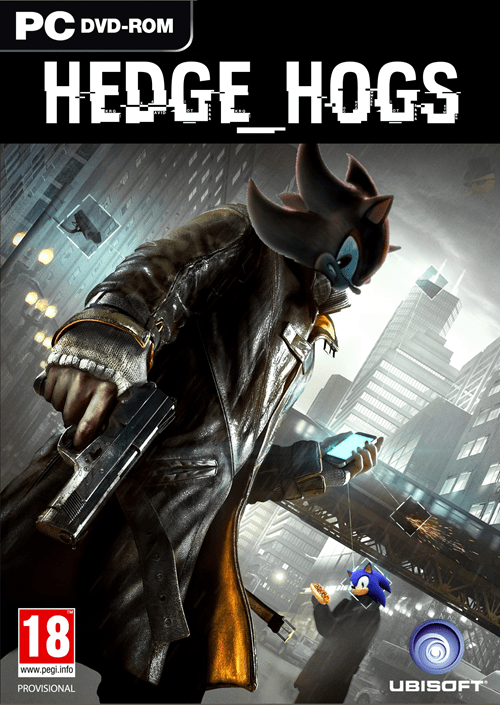 sonic,shadow,Watch_dogs