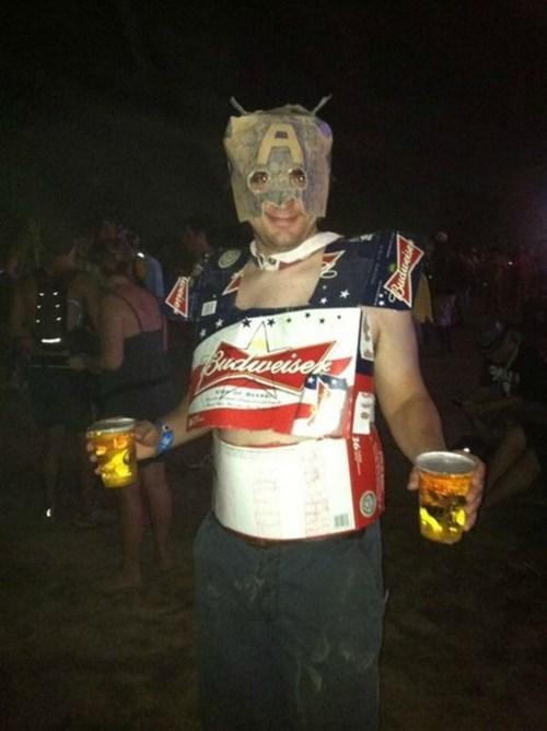 beer,captain america,cosplay