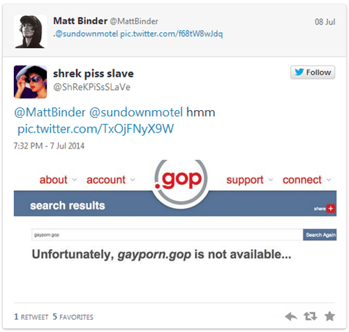 "The "".GOP"" Domain is Up for Grabs, so of Course People Are Finding the Most Ridiculous URLs to Buy Up"