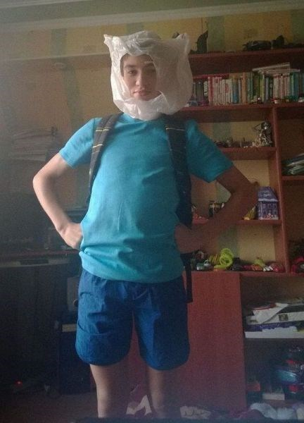 Low-Budget Finn Cosplay