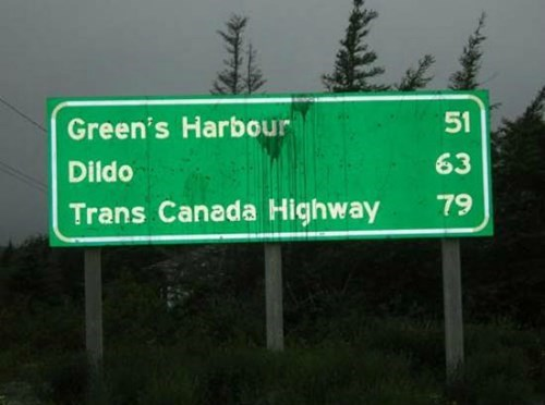 So There's a Town in Canada Called...