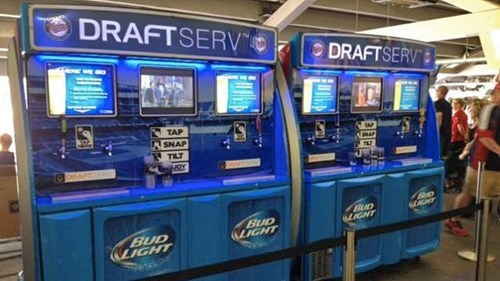 Beer Vending Machines Coming to a Stadium Near You