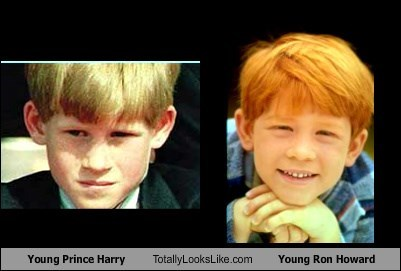 Young Prince Harry Totally Looks Like Young Ron Howard