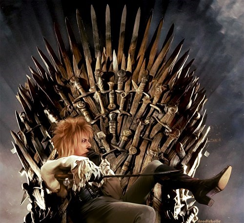 The Real King on the Throne