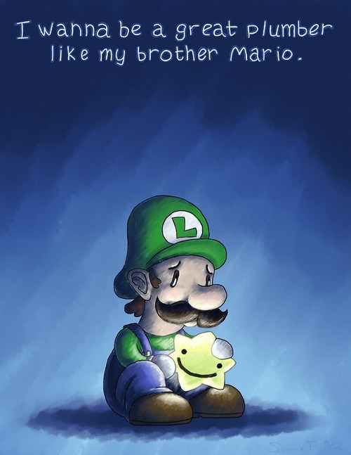 Luigi Had a Entire Year Dedicated to Him But He Still Feels Down