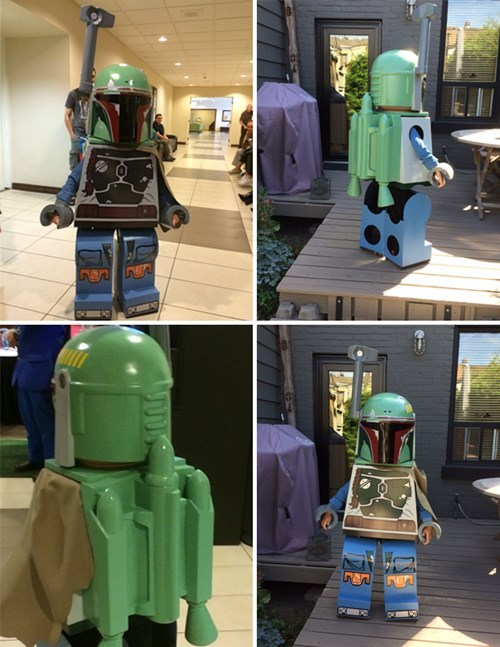 The Coolest Dad Ever Made His Son a Different Kind of Boba Fett Cosplay