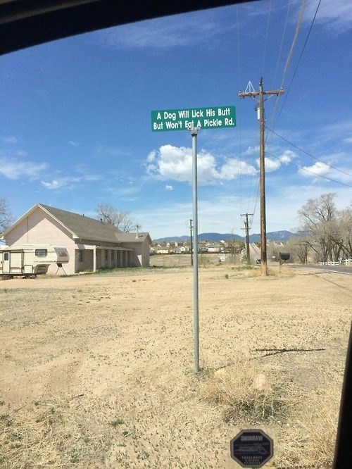 Oddly Specific Roads