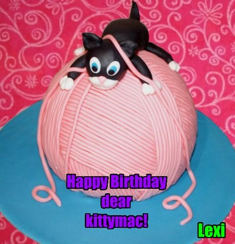 Happy Birthday  dear  kittymac!